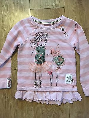 Lovely Girls Jumper From Next Age 6 Very Good Condition