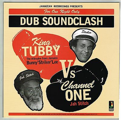 KING TUBBY & CHANNEL ONE-dub soundclash  LP   jamaican recordings  (new)  reggae