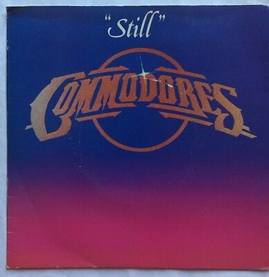 "Commodores (Lionel Richie) Still - Motown Records Picture Sleeve 7"" Single VG+"