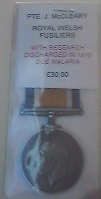 Royal Welch Fusiliers Medal