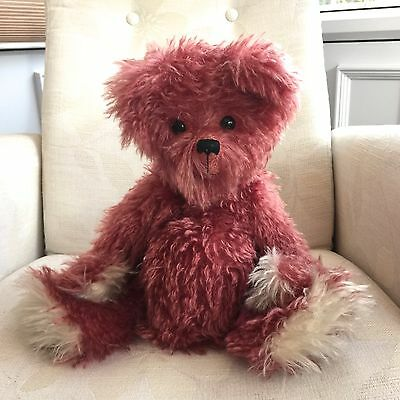 """Bosky Bears """"Strawberry"""" - Limited Edition Collectable Teddy Bear - Diane Morris"""