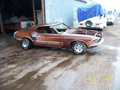 1969 Ford Mustang  1969 Mach 1 Roller