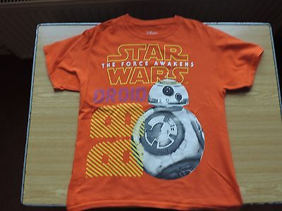 star wars bb8 t shirt from the disney shop size 7-8 years