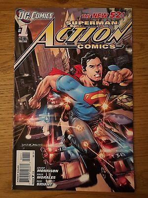 Action Comics #1 Dc Relaunch New 52 - First Print - Very Rare 1St Print