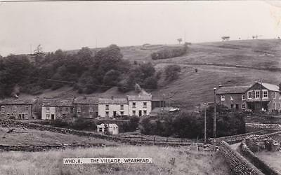 RP WEARHEAD THE VILLAGE REAL PHOTO COUNTY DURHAM c1950