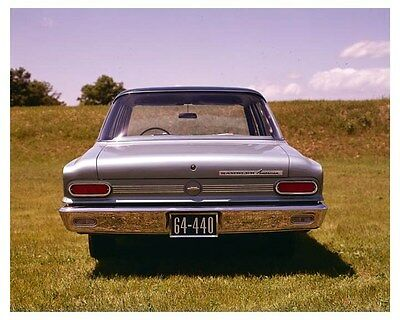 1964 Rambler American 440 ORIGINAL Factory Transparency ouc3105