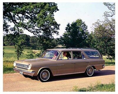 1964 Rambler American 330 Station Wagon ORIGINAL Factory Transparency ouc3108
