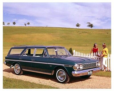 1964 Rambler Classic 770 Station Wagon ORIGINAL Factory Transparency ouc3116