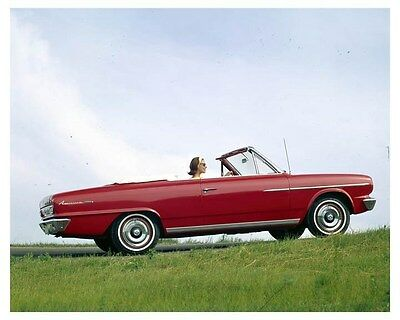 1964 Rambler American 440 Convertible ORIGINAL Factory Transparency ouc3122