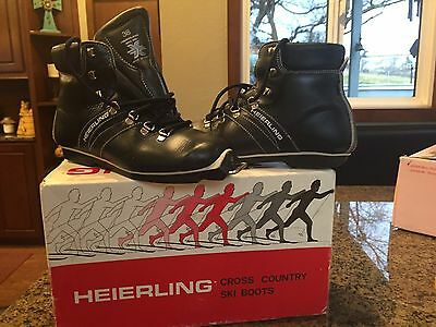 HEIERLING CROSS COUNTRY SKI BOOTS Size 38