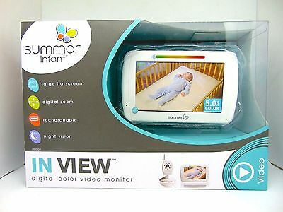 Summer Infant In View Digital Color Video Baby Monitor System (NO TAX)