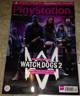 Official PlayStation Magazine 129 Watchdogs 2