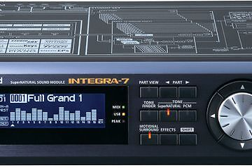 Roland Integra 7 Synth Sound Module - excellent condition