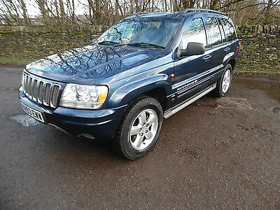 Grand Cherokee Jeep Overland 4.7 V8 Automatic Low Mileage