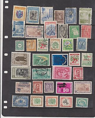 Varied Range of Uruguay Stamps