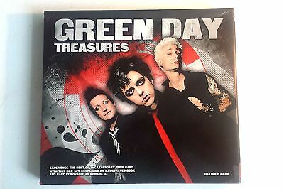 Green Day Treasures Box Set Style Illustrated Book