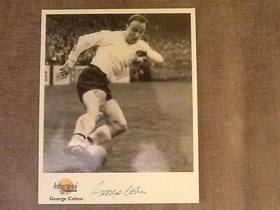 George Cohen signed Photo with COA - Fulham and 1966