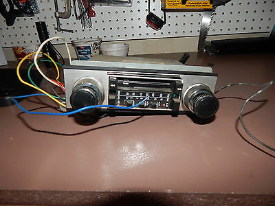 Vintage Car Radio Cassette Sanyo    Made in Japan REMOVED FROM 1969 MGB
