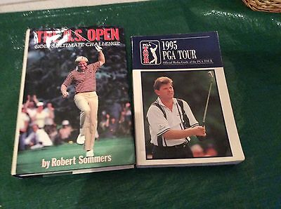 U.s Open And P.g.a   Tour Golf Books