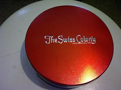 Vintage The Swiss Colony Collectible Tin
