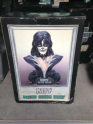 Rare 1999 Kiss peter criss Large Bust Statue 20""