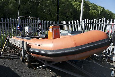 Avon RIB with Honda 50hp - REDUCED FOR QUICK SALE