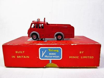 Triang Minic Motorway M1550 Fire Engine