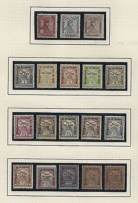 Hungary 1915 Sc. B35-52 Complete Set of 18 NH