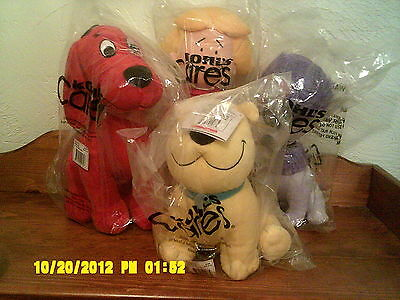 NWT Set Kohls CLIFFORD, Cleo, T BONE & EMILY ELIZABETH Plush Great Gift Idea