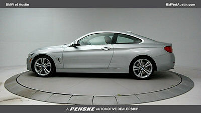 2014 BMW 4-Series 435i 435i 4 Series 2 dr Coupe Automatic Gasoline 3.0L STRAIGHT 6 Cyl Glacier Silver M