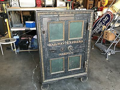 "1800's TILTON McFARLAND Safe As-Is or Restore & Customized for YOU ""Watch Video"""