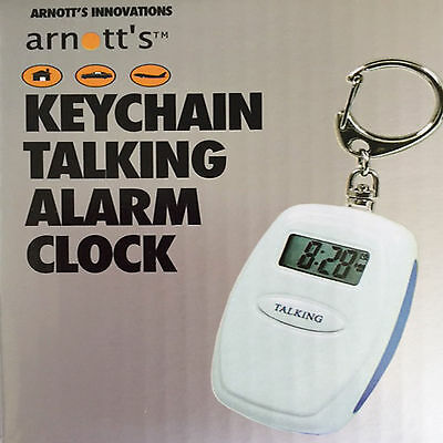 Talking Clock on your keyring - No need to put your glasses on!!!!