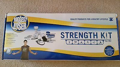 The Biggest Loser Strength Kit for Nintendo Wii: (opened for photos only)