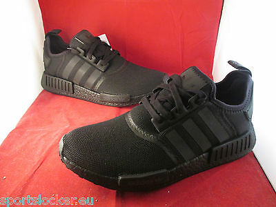 Adidas NMD R1 Colour Boost Triple Black 8 9 10 11 All Sizes S31508 SportsLocker