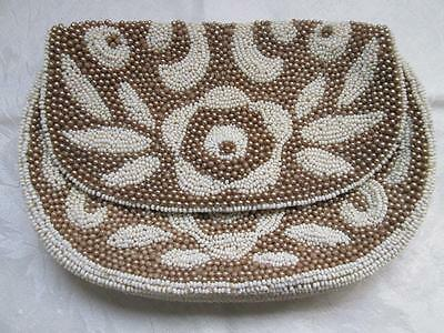 Old Antique Vintage Beaded Purse Bag Case Prom Wedding Formal Casual