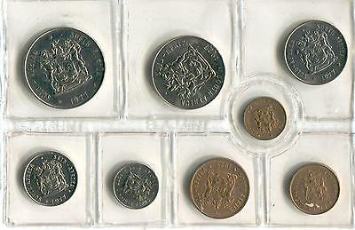1977 South Africa Mint Set in Original Mint Pack. Very nice set.