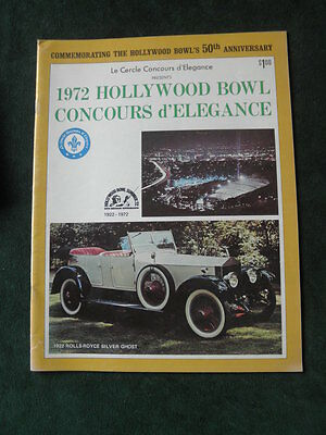 1972 Hollywood Bowl Concours d'Elegance