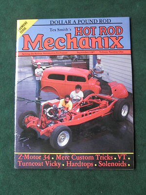 Tex Smith's Hot Rod Mechanix Three Issues Including Volume One Number One