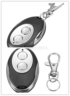 Hot Sales Cloning Remote Control Key Fob 433mhz Universal 2Buttons Garage GateUK