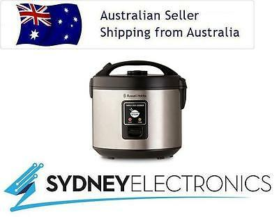Russell Hobbs 10 Cup Capacity Stainless Steel Family Rice Cooker- RHRC1
