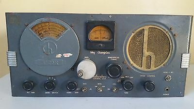 Hallicrafters Sky Champion S-20R Tube Ham Radio Receiver S 20 R