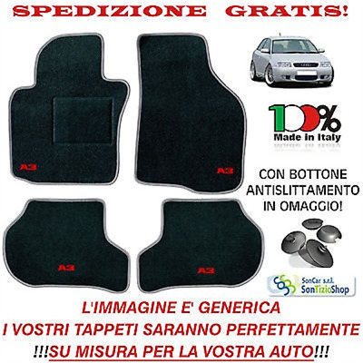 "AUDI A3 8L tailored car mats Customised, Car Carpets ""OFFER SPECIAL"""