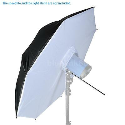 "40"" Photo Studio Flash Speedlite Light Umbrella Softbox Reflector Diffuser B2C8"