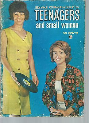Vintage  ENID GILCHRIST Teenagers and Small Women Pattern BOOK
