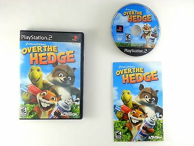 Over the Hedge game for Sony Playstation 2 PS2 -Complete