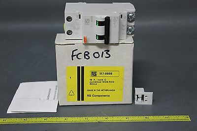 New Rs 2 Pole Residual Current Circuit Breaker W/overload Protection(S12-1-122C)