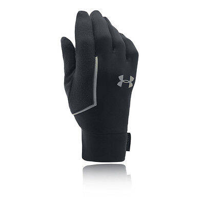 Under Armour Core Mens Black Winter Warm Outdoors Running Gloves