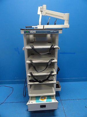 Karl Storz GoKart 9601F Video - Endoscopy Cart W/ Arm & Monitor Mount (10624)