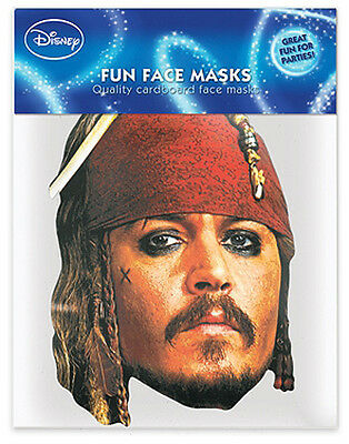 Fluch der Karibik Party-Maske Jack Sparrow (Johnny Depp)
