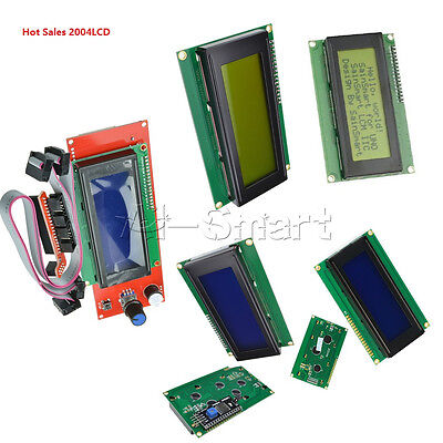 3.3/5V IIC/I2C/TWI/SP​​I Interface 20X4 Character Yellow/Blue LCD Display Module